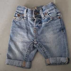 Polo Ralph Lauren Denim Bermuda Shorts Size 3m